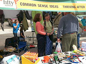 FiftySense at Trail Days